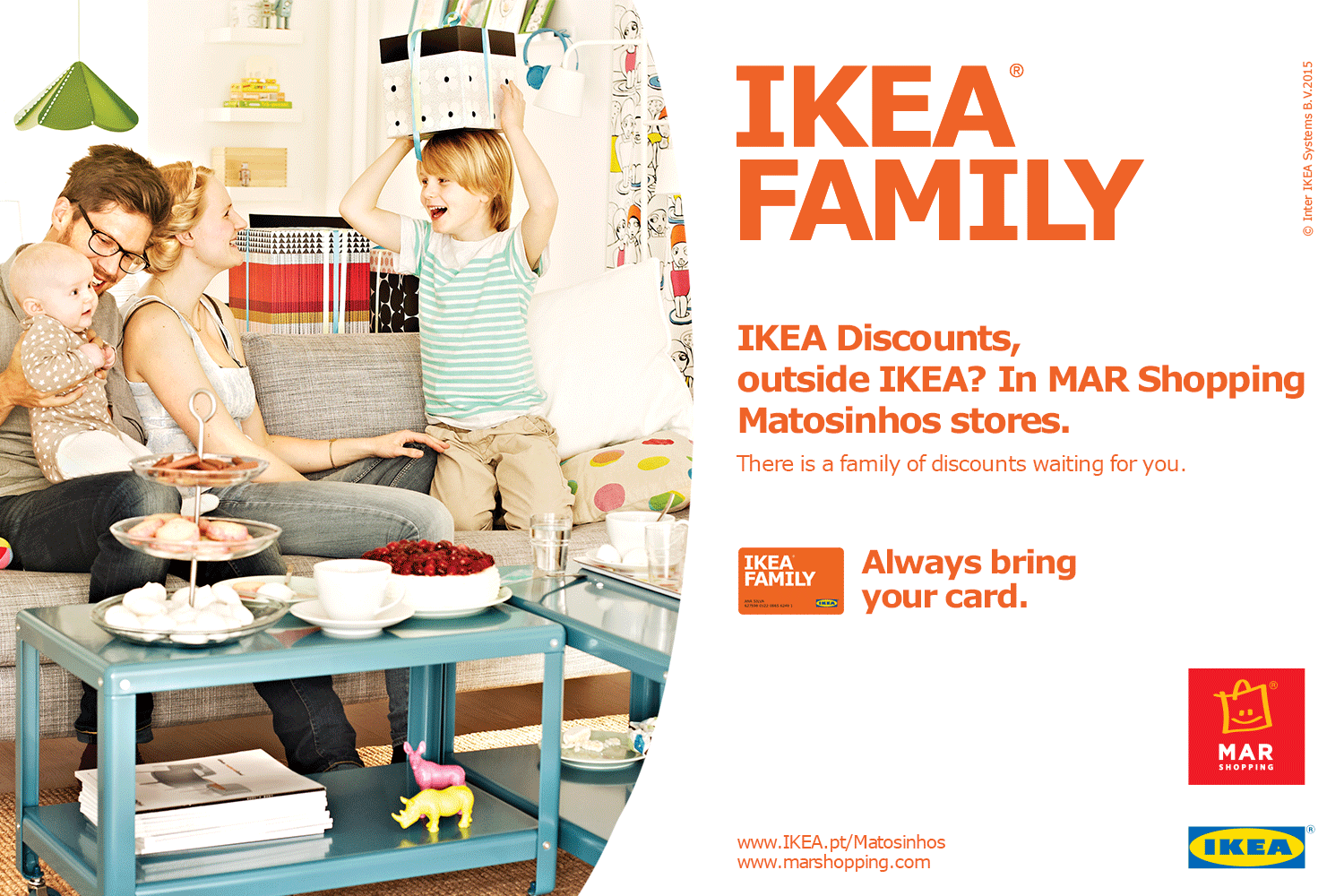 ikea family offers mar shopping matosinhos ikea family. Black Bedroom Furniture Sets. Home Design Ideas