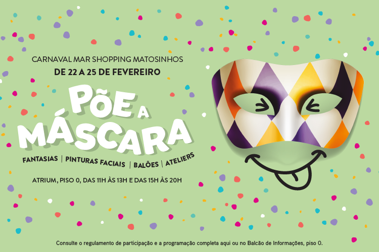 carnaval mar shopping matosinhos