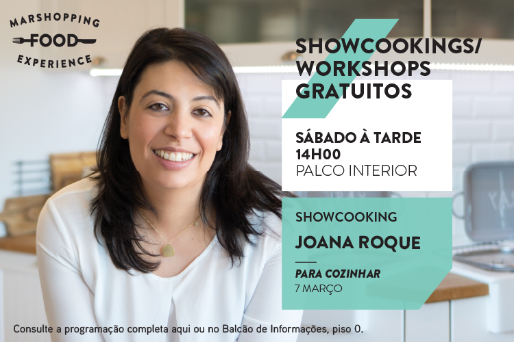 mar shopping food experience showcooking joana roque